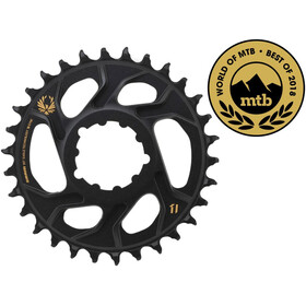 SRAM X-Sync Eagle Corona dentata DM 12 velocità 6mm, black/gold